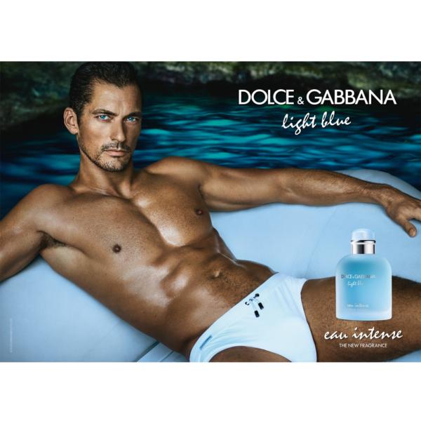 DOLCE & GABBANA  LIGHT BLUE EAU INTENSE POUR HOMME 200ml