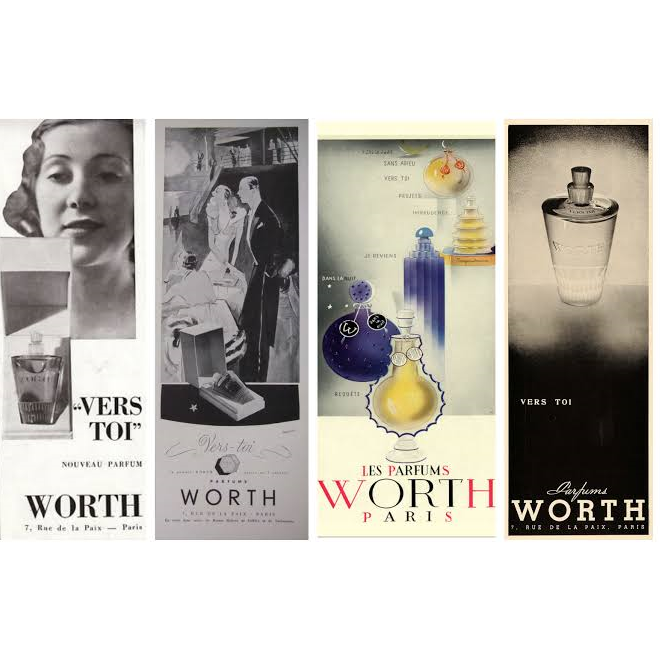 JE REVIENS by WORTH 3pc SET